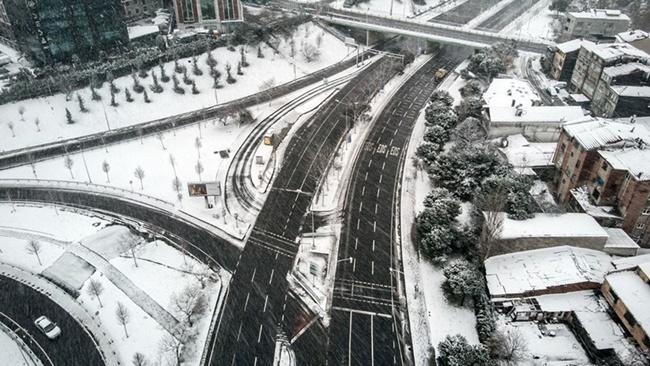 18 Ocak 2021 İstanbul Kar