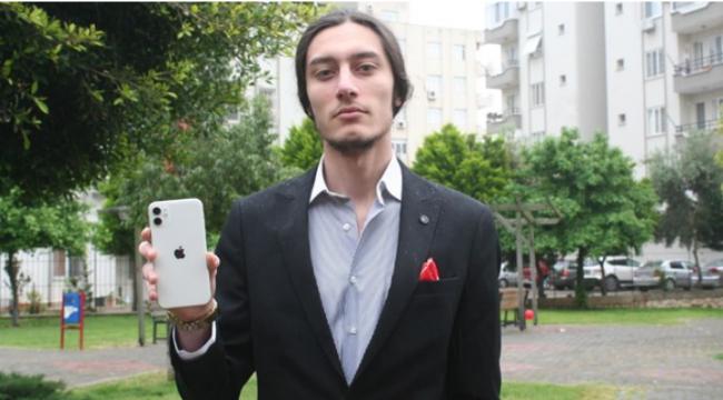 Mersinli gence Apple'dan 1,5 TL'lik ödül