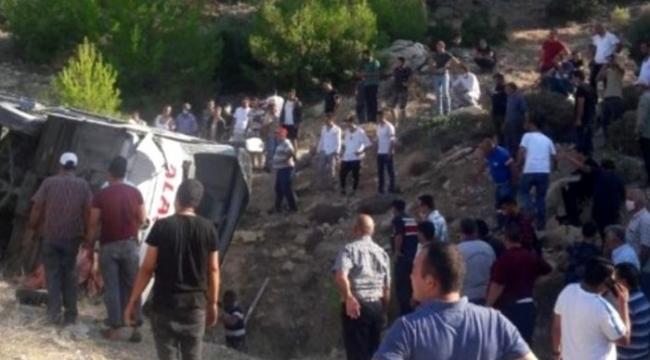 Mersin'deki otobüs kazasında 5 askerimiz şehit oldu!