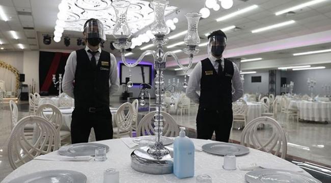 İstanbul'da kapalı alanlarda düğün yapmak yasaklandı
