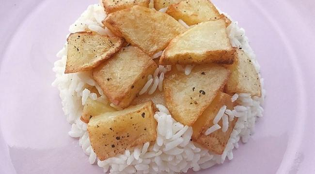 Patatesli Çilav tarifi