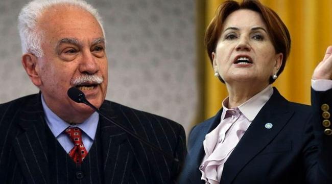 """Doğu Perinçek'ten Meral Akşener'e cevap! """"Maocu neferi ülkücü edip evlendim"""""""