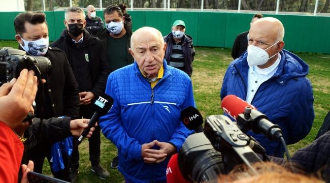 Futbol maçlarına seyirci ne zaman alınmaya başlanacak? Nihat Özdemir'den açıklama!