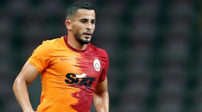 Galatasaray'da korkunç olay! Omar Elabdellaoui'nin elinde havai fişek patladı!