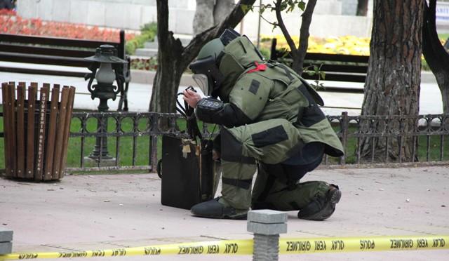 Antalya Adliyesi'nde Bomba Alarmı!