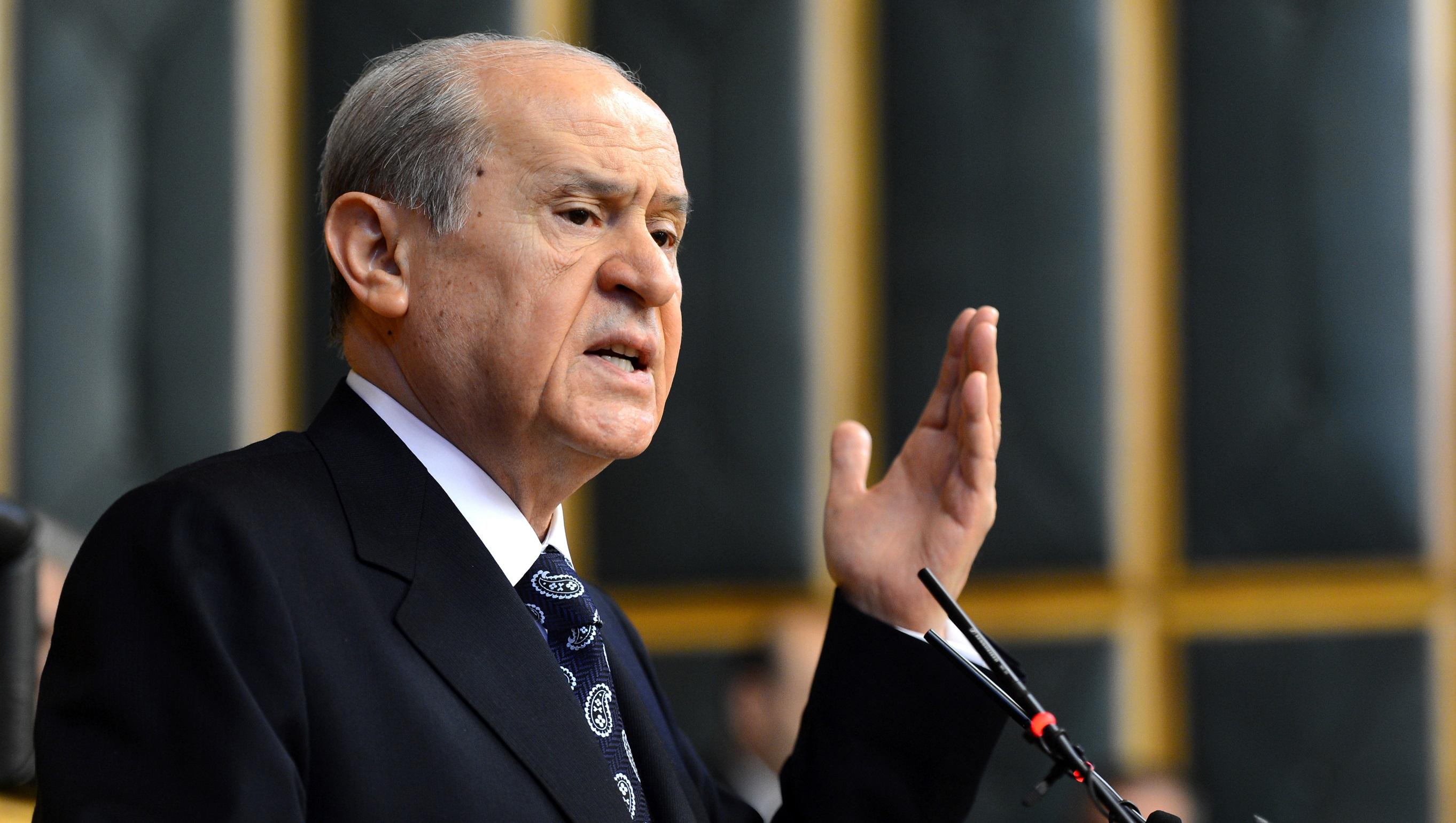 Bahçeli, Cinsel İstismar Tasarısı Hakkında AKP'yi Topa Tuttu!