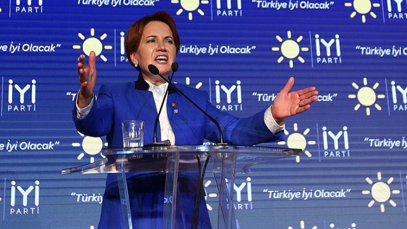 24 Haziran Öncesi İYİ Parti Genel Başkanı Akşener'e Tehdit Gibi Mesaj, Evinin Tam Karşısına Bu Yazı Yazıldı!
