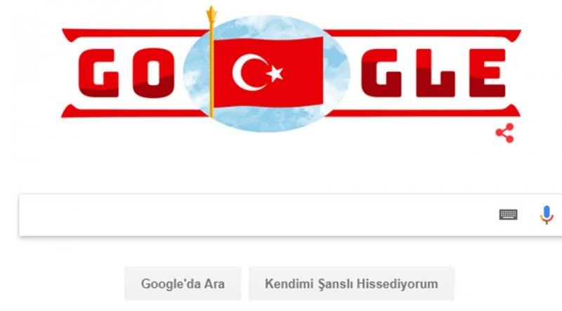 29 Ekim Cumhuriyet Bayramı Kutlamaları Coşkuyla Başladı! Google'den Bayrama Özel Logo