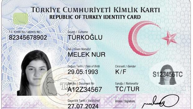 Yeni kimlik kartlarıyla tanışın
