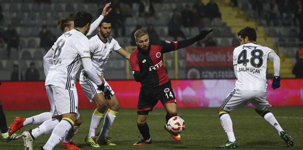 Fenerbahçe Ankara'da Kazanamadı!