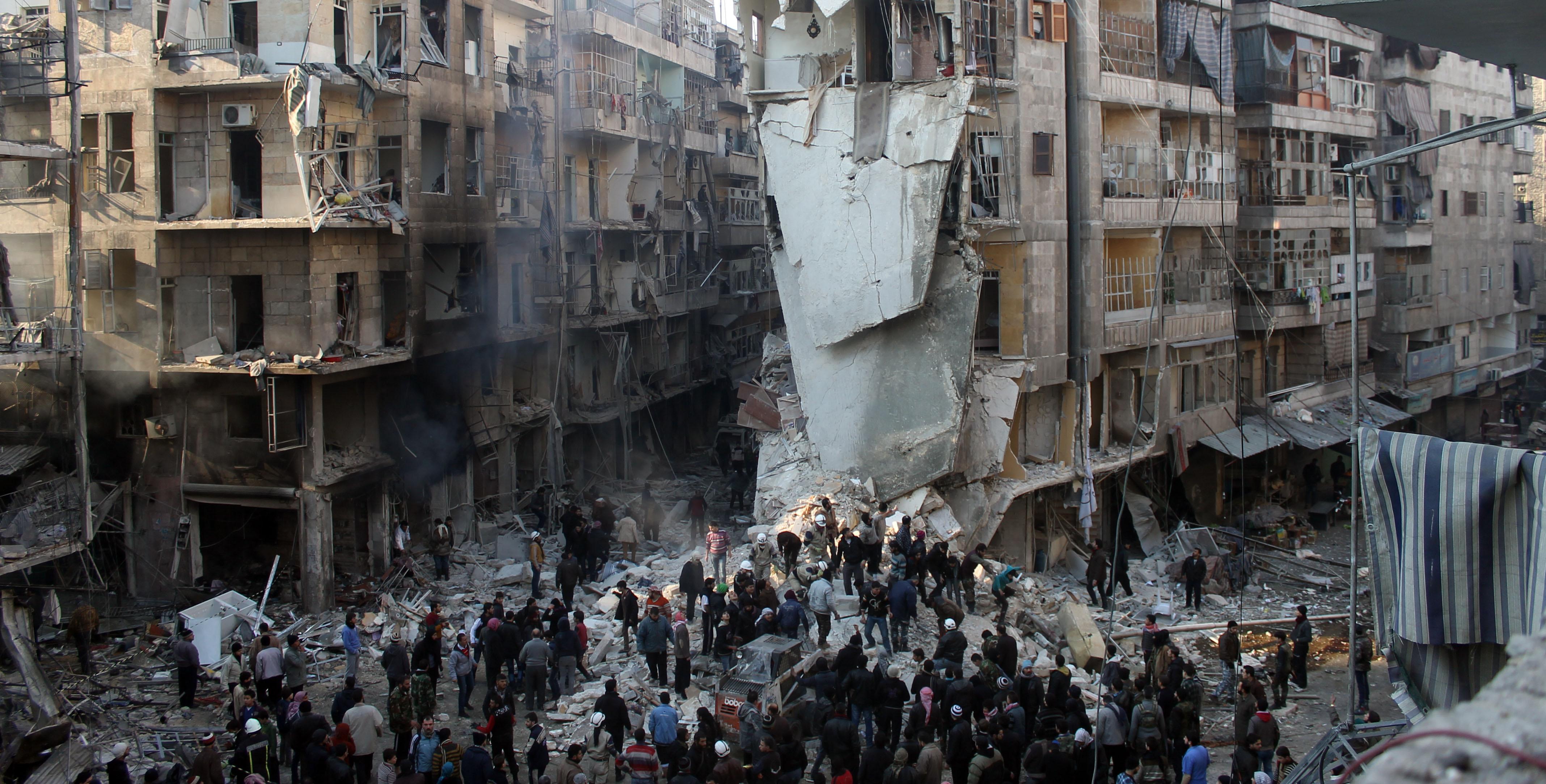Evrensel Değerler Halep'de Çöktü