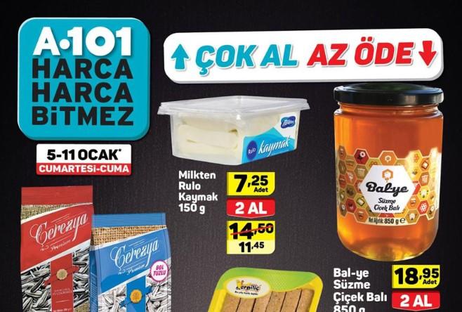 A101 Aktüel 5 - 11 Ocak 2019 Kataloğu! A101 Hafta Sonu Aktüel Ürünler Kataloğu Yayında