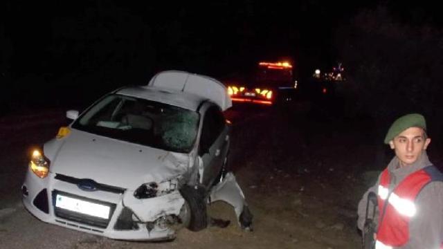 Derbiyi İzleyen Dede-Torun, Trafik Kazasında Öldü