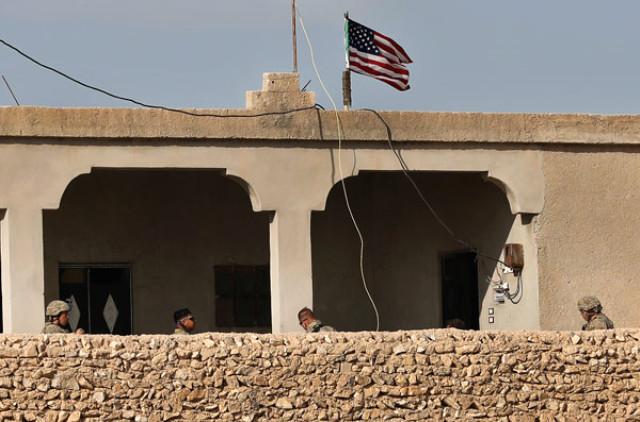 ABD Ne Yapmaya Çalışıyor? Türkiye'nin Hedefindeki İlçeye Asker Yığdı, Amerikan Ajansı O Fotoğrafları Servis Etti