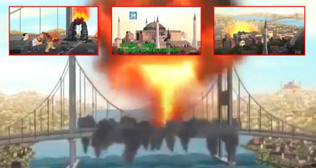 ABD'nin Ünlü Dizinde Skandal Türkiye Detayı: Şehitler Köprüsünü Havaya Uçurdular!