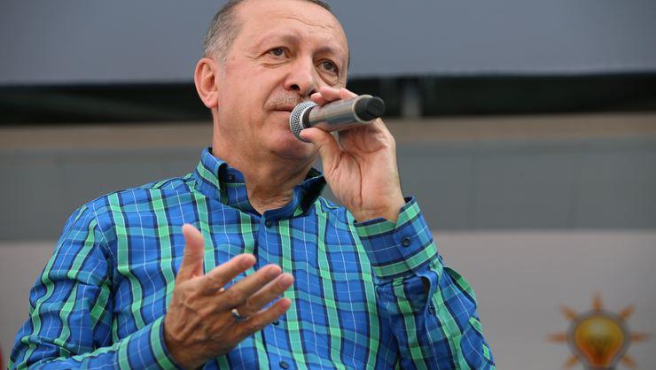 Açtı Ağzını Yumdu Gözünü! Cumhurbaşkanı Erdoğan'dan Muharrem İnce'ye Demirtaş Tepkisi