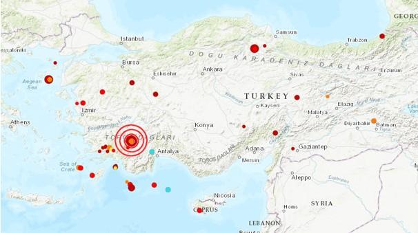 AFAD'dan Son Dakika Açıklaması! Denizli'de 5.5 Şiddetinde Deprem