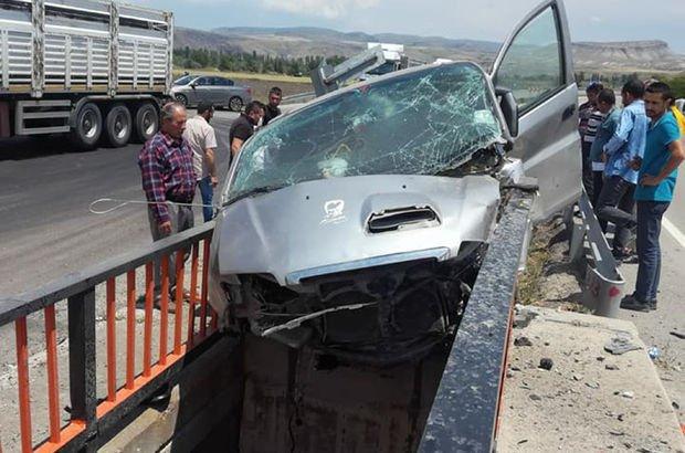 Ankara'da Korkunç Kaza! 1 Ölü, 3 Yaralı