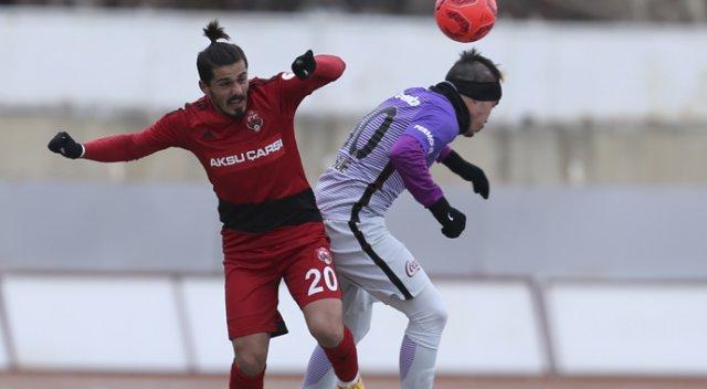 Galatasaray Erzincan'da Kazanamadı!