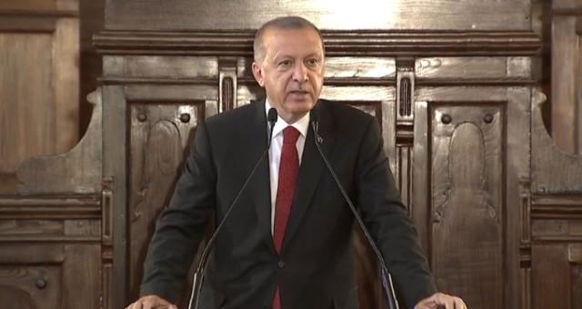 Başkent'te Tarihi Tören! Başkan Erdoğan ve Bakanlar 1. Meclis'te