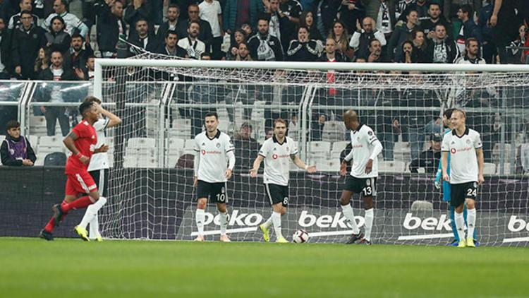 Beşiktaş'ta Güz Sezonu! Beşiktaş 1 – Sivasspor 2