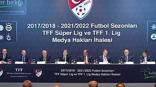 Süper Lig İhalesi Yapıldı!