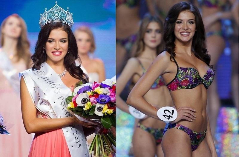 Rusya Güzellik Kraliçesi'nden Bikini Provası