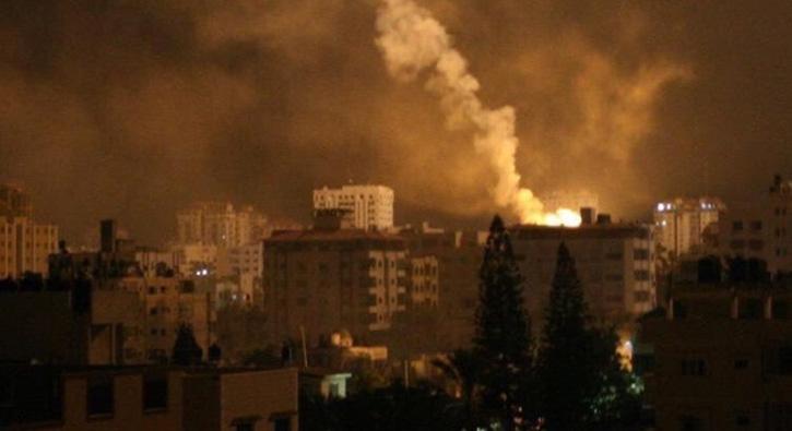 Camilerden Direniş Çağrısı Yapılmıştı! İsrail Gazze'yi Savaş Uçakları ve Tanklarla Vurdu