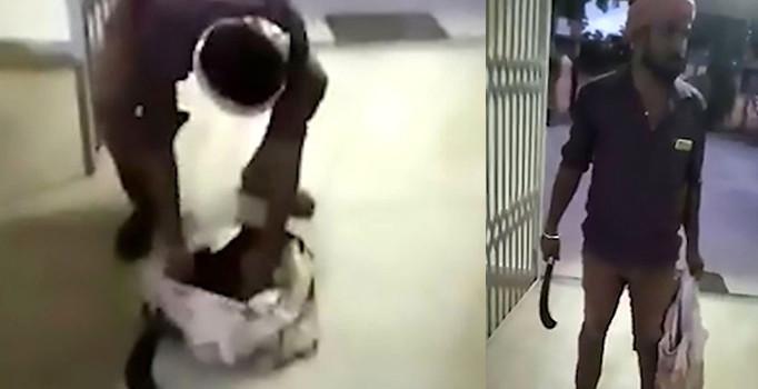 Cani Koca Kendisini Aldattığını İddia Ettiği Eşinin Kesik Başı ile Karakola Geldi