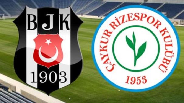 Beşiktaş - Çaykur Rizespor Muhtemel 11'ler!
