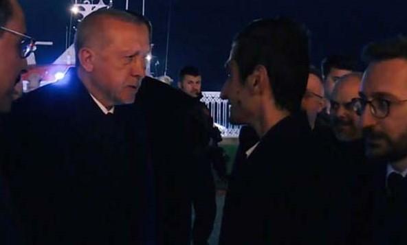 Cumhurbaşkanı Erdoğan Yusuf Özoğul ile Buluştu