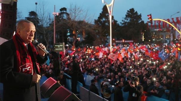 Cumhurbaşkanı Erdoğan'dan Çok Sert Açıklamalar: İnlerine Gömeriz!