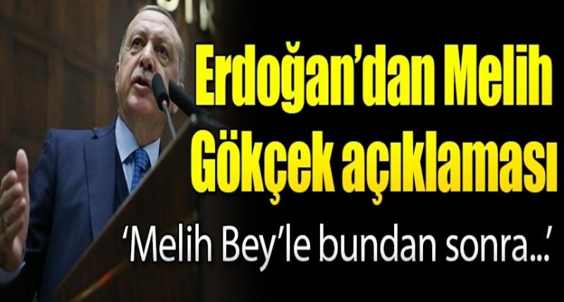 """Cumhurbaşkanı Erdoğan'dan Kritik Melih Gökçek Açıklaması: """"Melih Bey Bundan Sonra"""""""