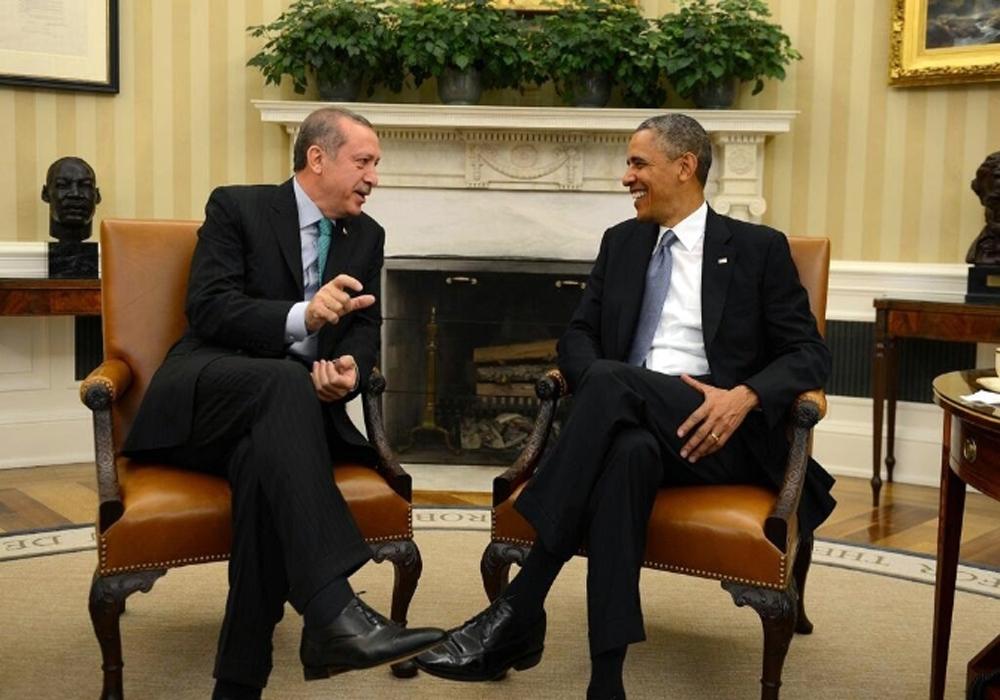 Erdoğan ve Obama'nın Görüşmesi