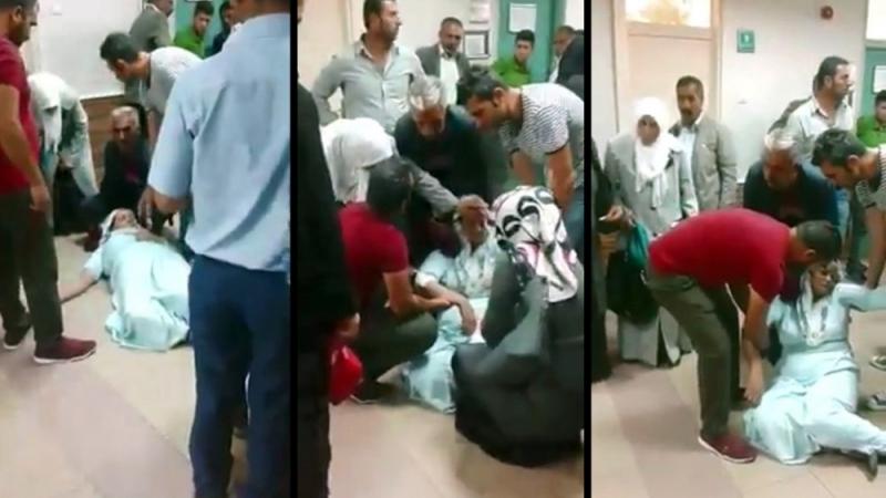 Devlet Hastanesi'nde Skandal Görüntüler! Hasta Kadın Saatlerce Yerde Sürüklendi, Vatandaşlar İsyan Etti