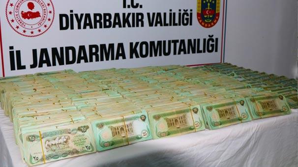 Diyarbakır'da Jandarma Ekipleri 1 Milyon Irak Dinar'ı Ele Geçirdi