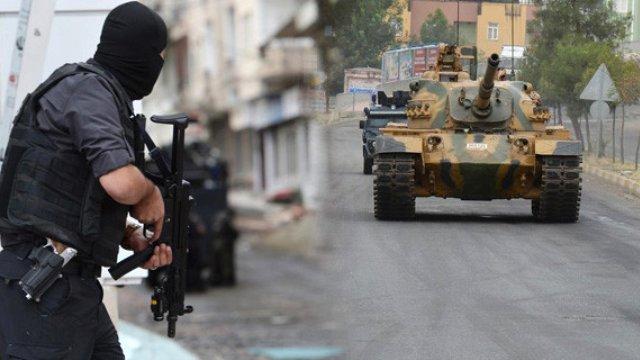 Diyarbakır'da Terör Operasyonu Başladı! 4 İlçeye Bağlı 59 Köy ve Mezrada Sokağa Çıkma Yasağı İlan Edildi!