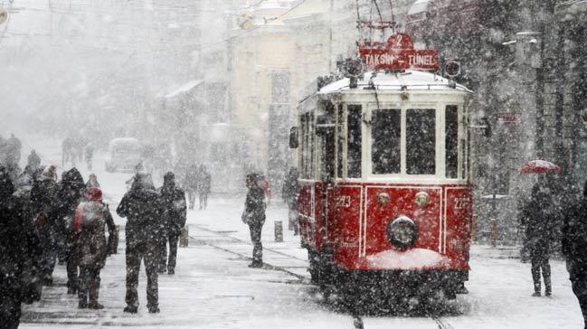 Meteorolojiden İstanbul'a Kar Uyarısı!