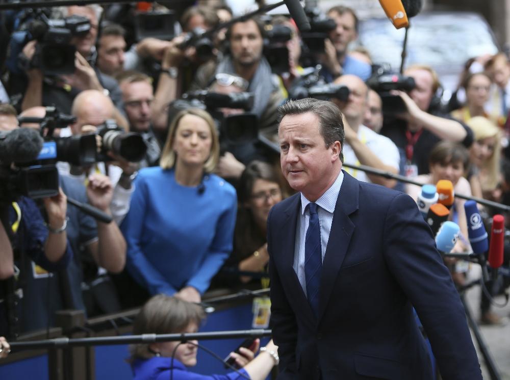 David Cameron AB Liderleriyle Görüşüyor