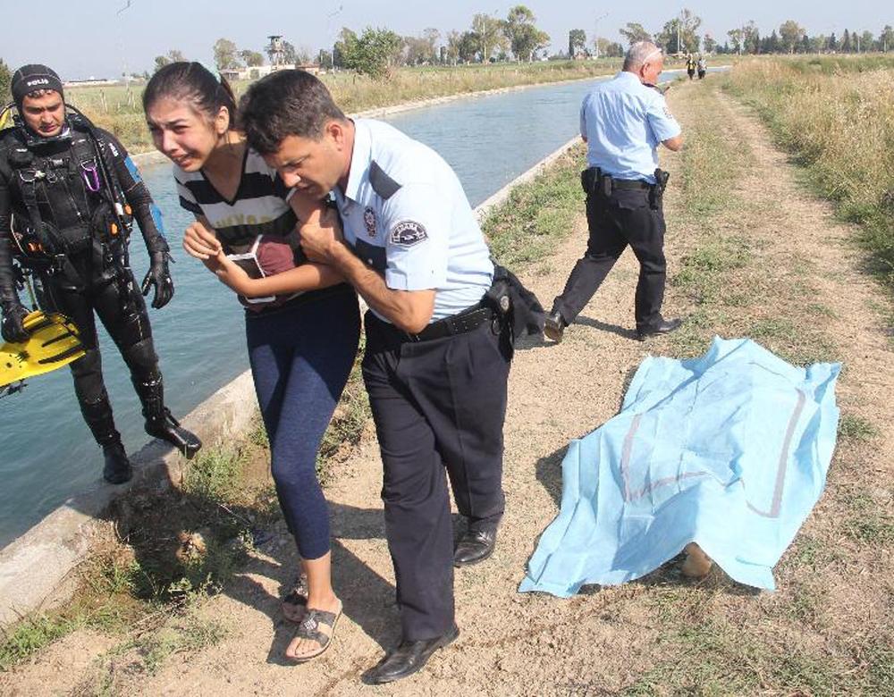 Sulama Kanalında Yüzmek İsteyen Genç Boğuldu