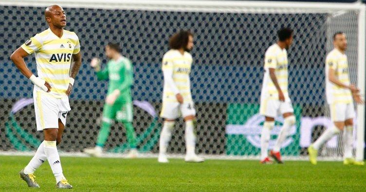 Fenerbahçe Sibirya'da Buz Tuttu! Zenit 3 – Fenerbahçe 1