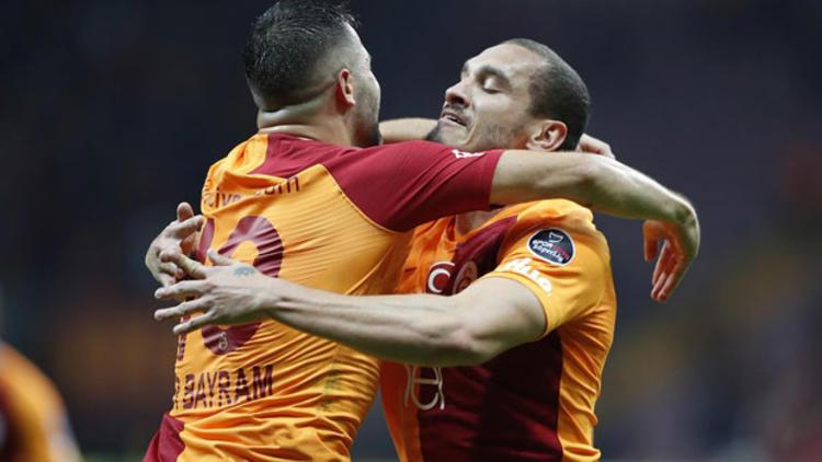 Galatasaray Üç Puanı Tek Golle Aldı