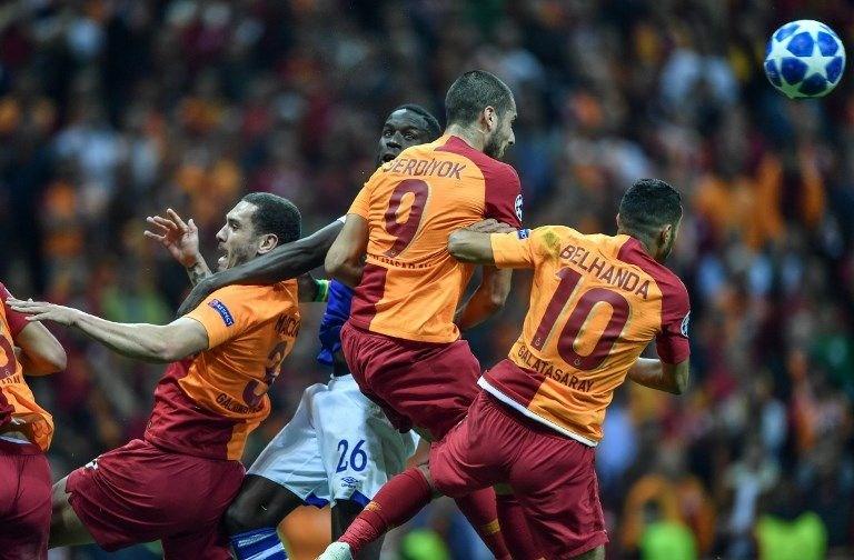 Galatasaray'a Şampiyonlar Liginde Sıcak 1 Puan