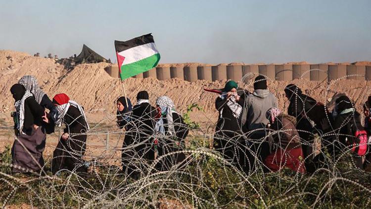 Gazze Şeridi'ndeki Büyük Dönüş Yürüyüşü Eylemlerine '30 Mart' Arası