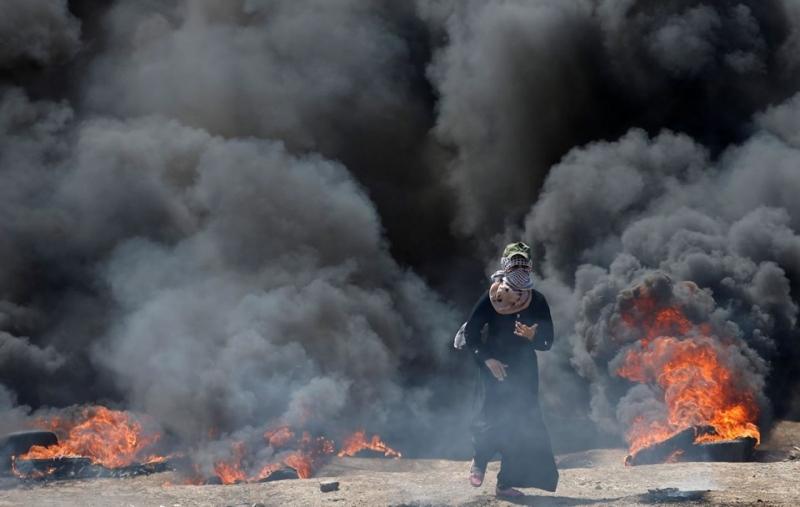 Gazze'de Kanlı Gün: Ölü Sayısı 37, Yaralı Sayısı 1700! Türkiye'den Katliamı Yapan İsrail'e Çok Sert Tepki