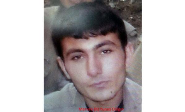Gri Listede Aranan PKK'lı Terörist Tunceli'de Öldürüldü