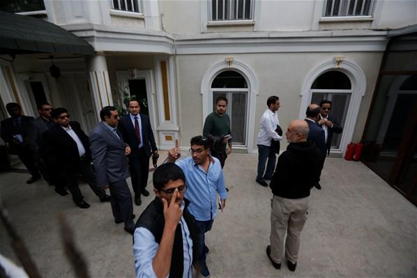 İçeriden İlk Kare! Suudi Arabistan İstanbul Başkonsolosluğu'nda Arama Başlatıldı