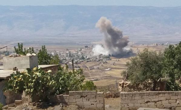 İdlib'de Kıyamet Kopuyor! Rus Savaş Uçakları Bomba Yağdırdı, Ölü ve Yaralılar Var