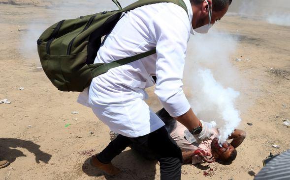 İsrail Gazze'de Vahşete Devam Ediyor! Tüm Dünya Bu Gencin Görüntüsüyle Sarsıldı