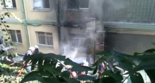 İstanbul Haseki Hastanesinde Korkutan Yangın! Yangının Çıkış Nedeni Dehşete Düşürdü